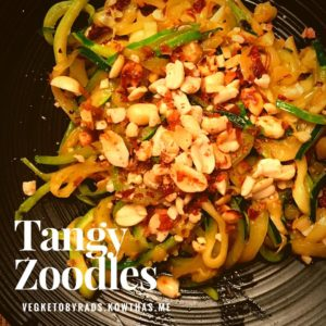 Dinner Tangy zoodles So perfect in all ways recipe onhellip