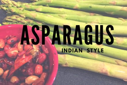 Asparagus Peanut Curry Indian Style Keto